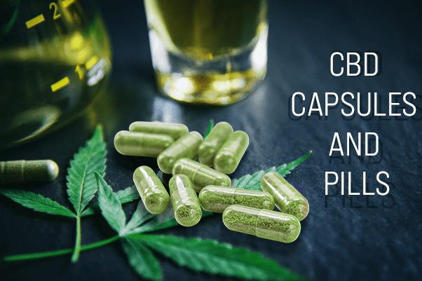 CBD Capsules And Pills